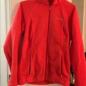Coral Columbia Fleece
